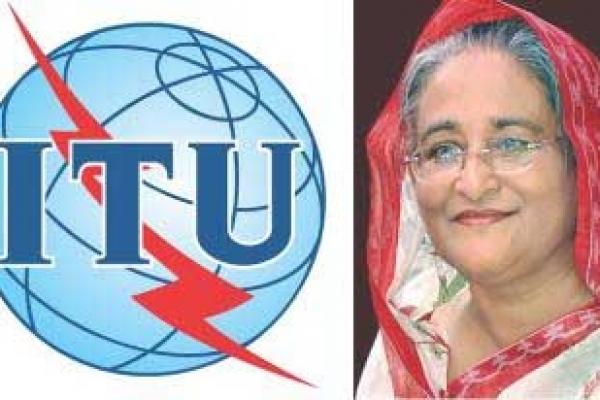 PM receives 'ICT Sustainable Development Award'