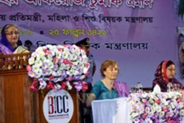 Establish own dignity through work, self-confidence: PM