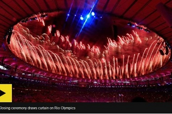 Rio Olympics end with Maracana carnival