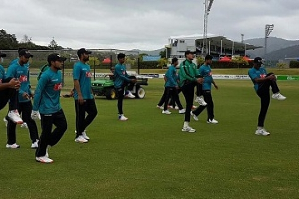 Bangladesh squad for first T20I against New Zealand