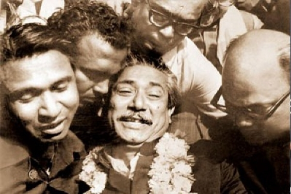 Historic Homecoming Day of Bangabandhu today