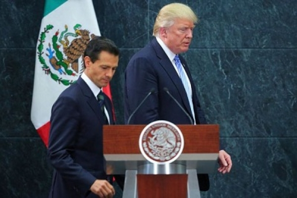 Trump seeks Mexican import tax to pay for border wall