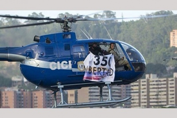 Venezuela-crisis-Helicopter-launches-attack-on-Supreme-Court