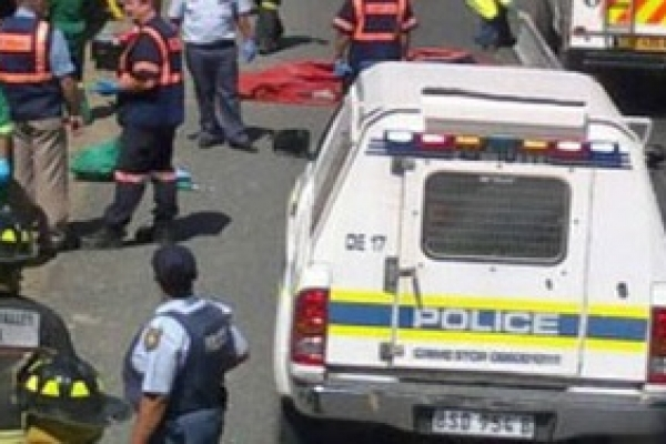 18 killed as bus turns turtle in South Africa