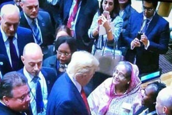 Trump-assures-PM-of-all-supports-on-Rohingya-issue