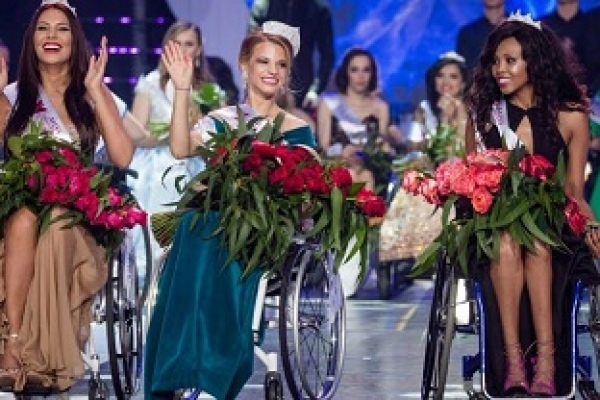 Belarussian student becomes first-ever Miss Wheelchair World