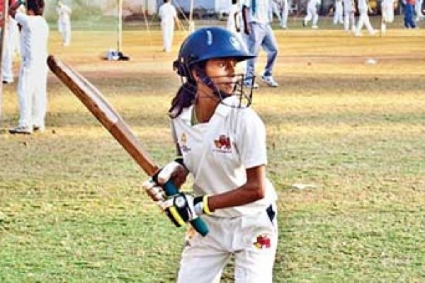 16-year-old Mumbai girl slams unbeaten double hundred in a match!