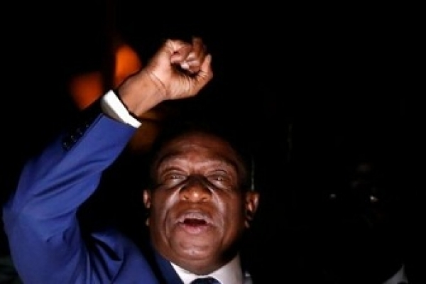 Mnangagwa to succeed Mugabe as Zimbabwe president