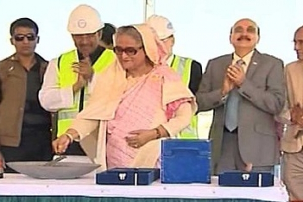 PM opens Rooppur Nuclear Power Plant construction work