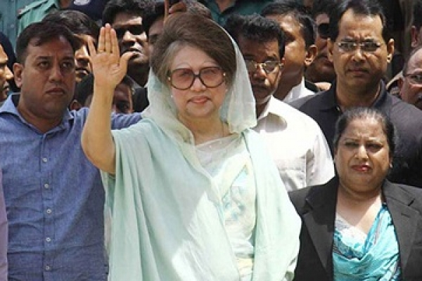Khaleda gets bail on surrender