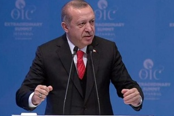 Jerusalem is capital of Palestine: Erdogan