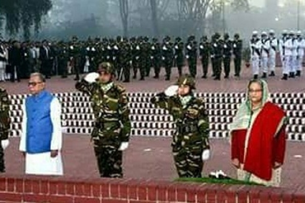 Victory Day: President, PM pay tributes to war heroes