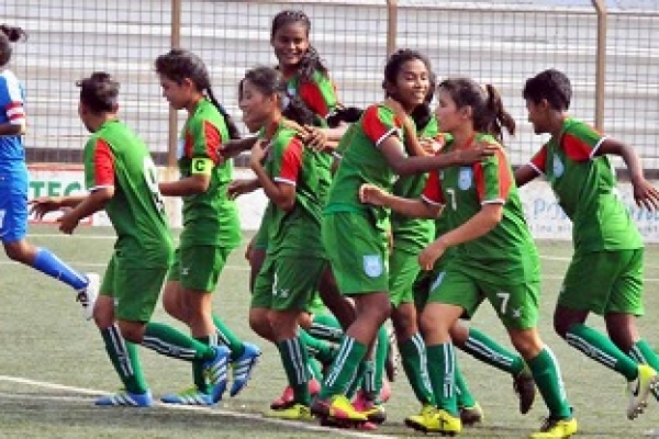 SAFF U-15 girls: Bangladesh beat India to be crowned champions
