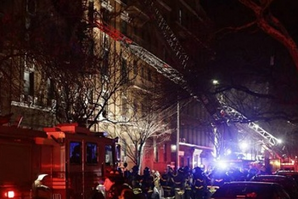 12 dead in New York apartment fire