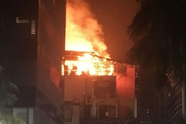 Fire at Mumbai complex kills 15 people