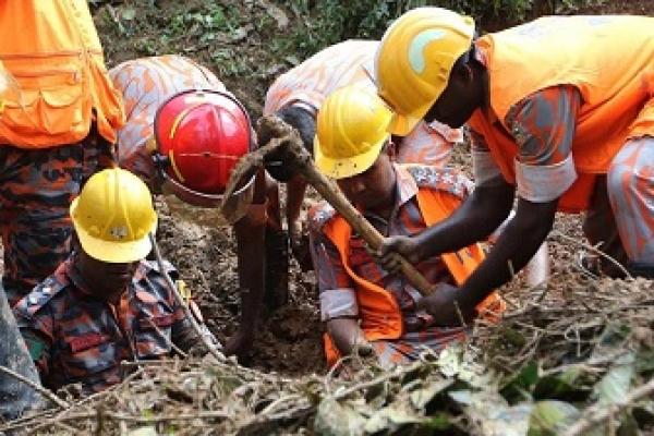 Child among 3 killed in Rangunia landslide