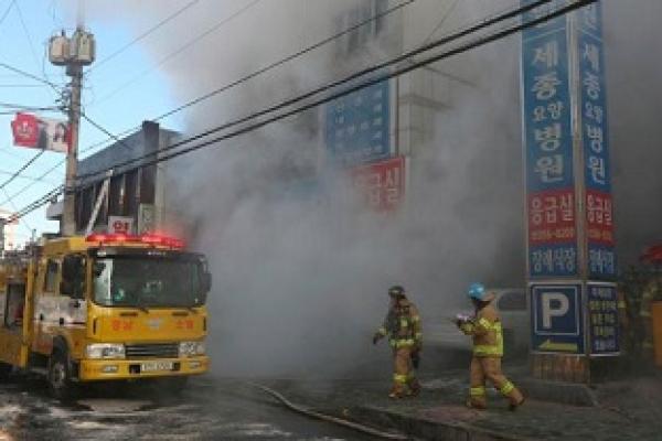 31 dead in South Korea hospital blaze