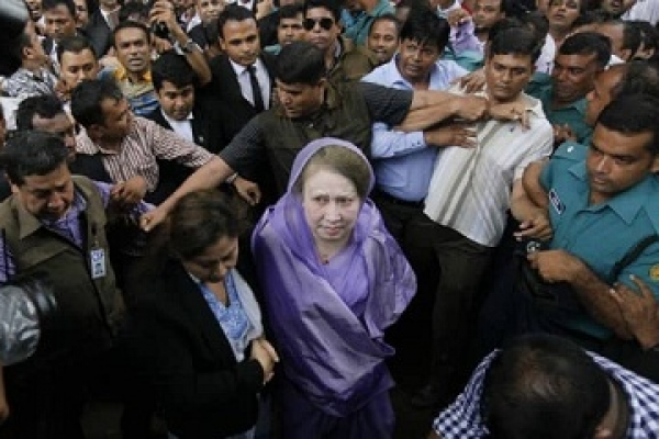 Khaleda Zia taken to jail