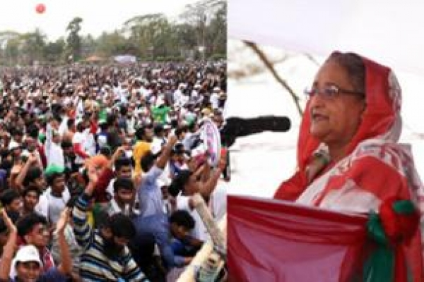 Khaleda's deeds exposed her to natural punishment: PM