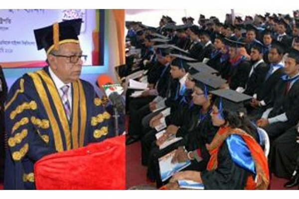 Face climate impact with new inventions: President