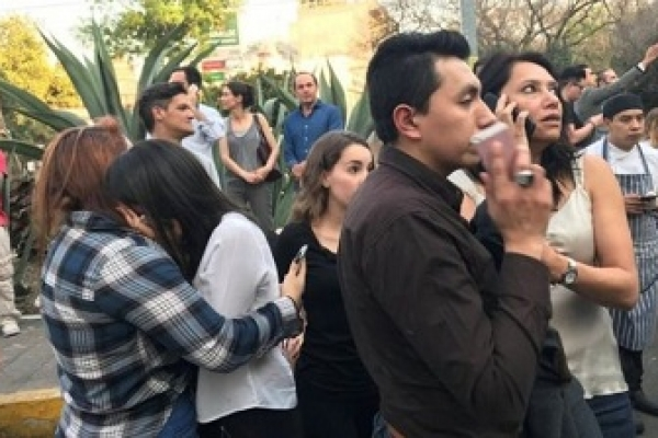Powerful tremor hits Mexico; no tsunami threat