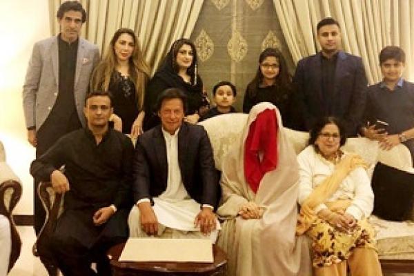Imran Khan marries spiritual adviser in third marriage