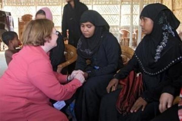 3 women Nobel laureates call Rohingya atrocities
