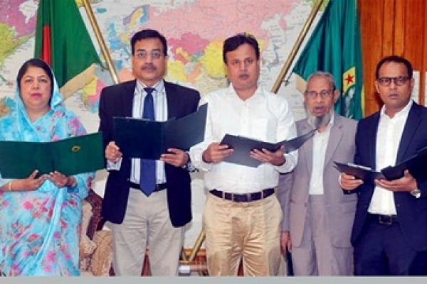 Four BNP MPs-elect take oath