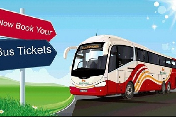 Advance bus ticket sales start from Friday