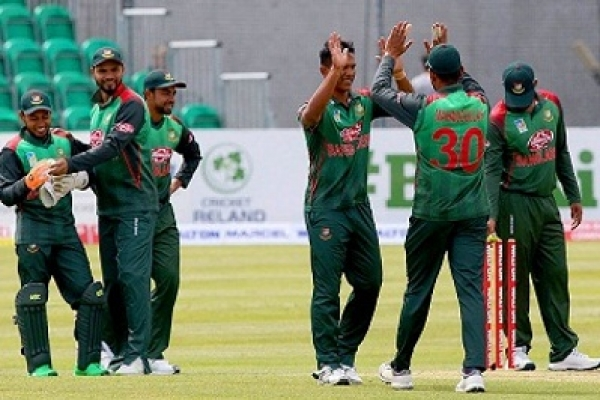 Bangladesh won by 6 wickets against Ireland