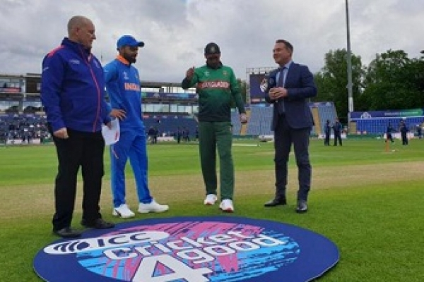 Bangladesh-India warm-up starts after rain stops