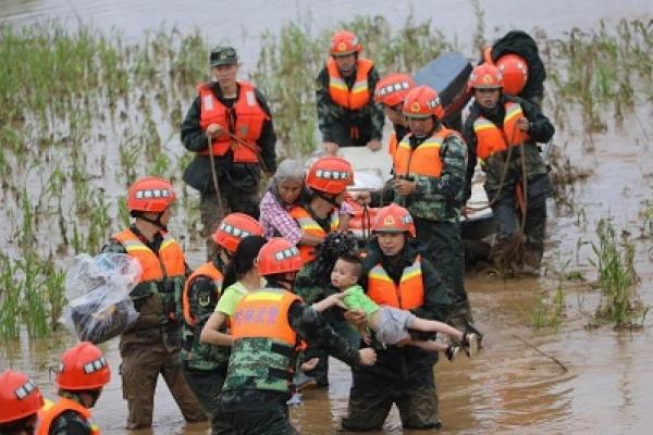 Heavy rain in south China kills 5