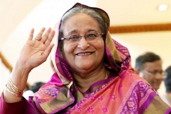Beijing rolls out red carpet for PM Sheikh Hasina