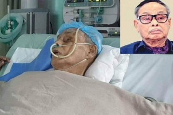Ershad put on life support