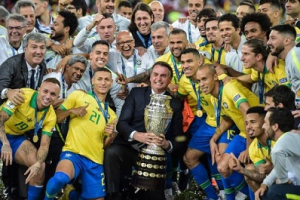 Copa America: Brazil beat Peru 3-1 to lift the title