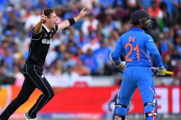 New Zealand beat India by 18 runs, reach WC final