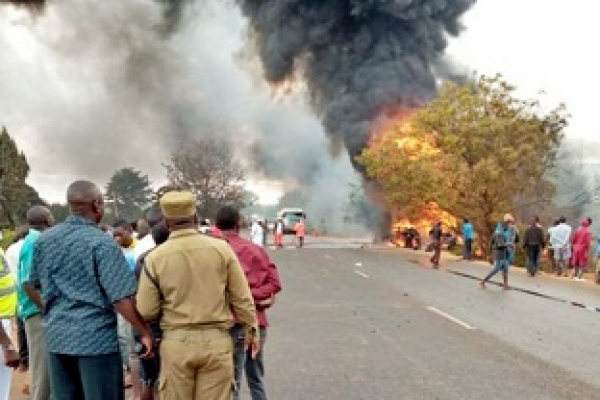At least 62 killed inTanzania fuel tanker blast