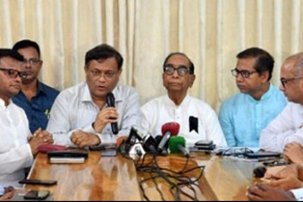 Fakhrul's bid to take bad smell of BNP's politics beyond border: Hasan