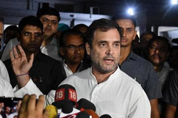 Rahul Gandhi sent back from airport