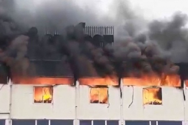 Myone Electronics factory catches fire in Gazipur