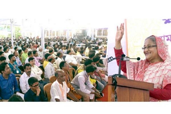 Enjoying festivals together is best achievement of Bangladesh: PM
