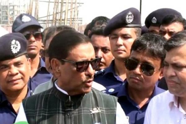 No case under new road transport law for 7 days: Obaidul Quader