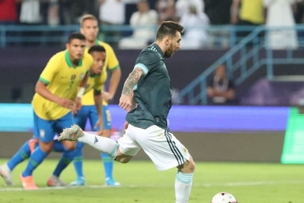 Messi goal gives Argentina victory over Brazil