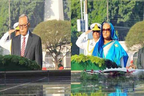 President, PM pay homage to Armed Forces martyrs