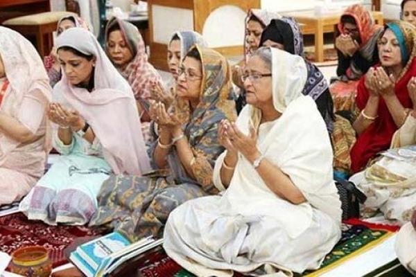 PM joins Bishwa Ijtema Akheri Munajat