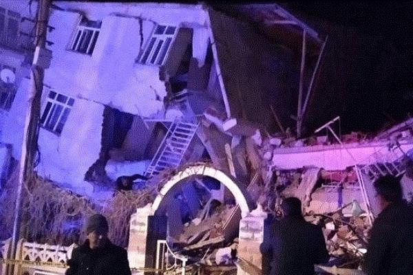 Powerful Earthquake kills at least 18 people in eastern Turkey
