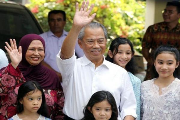 Malaysia King names Muhyiddin as Premier
