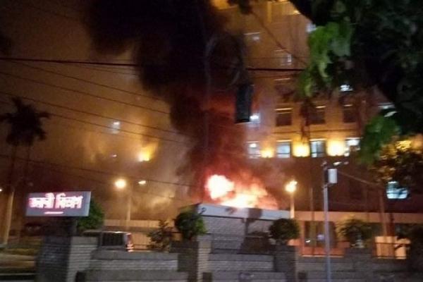 Fire at United Hospital, 5 coronavirus patients die