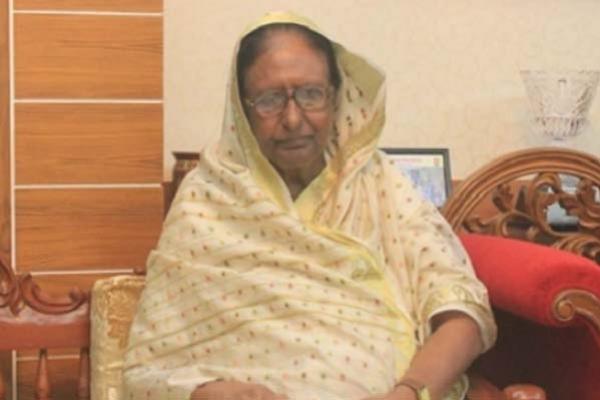 Ex-Home Minister Sahara Khatun hospitalized