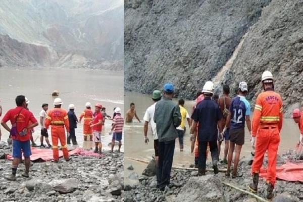 Northern Myanmar jade mine landslide kills 120